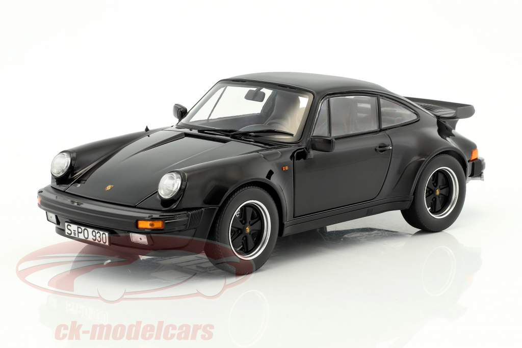 Porsche 911 (930) Turbo 3.3 year 1977 black 1:18 Norev