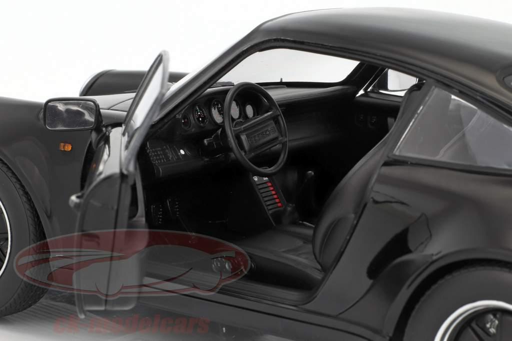 Porsche 911 (930) Turbo 3.3 Baujahr 1977 schwarz 1:18 Norev
