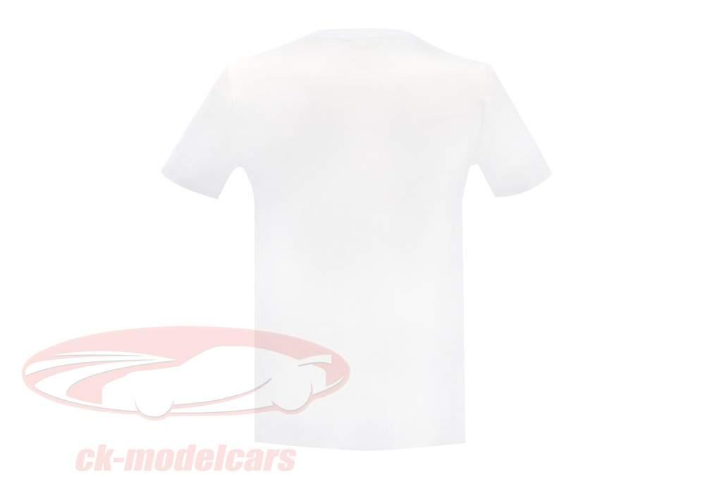 L. Hamilton Mercedes AMG Petronas F1 Team pôle position Record du monde F1 2017 T-shirt blanc