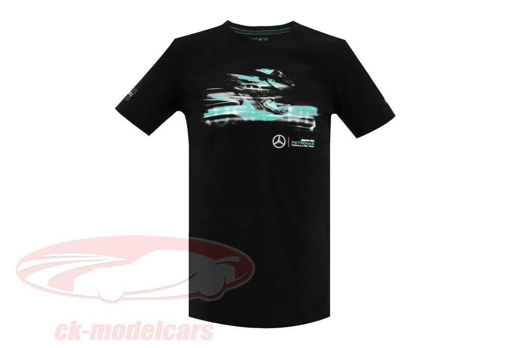 Nico Rosberg Mercedes AMG Petronas F1 Team World Champion F1 2016 T-shirt black