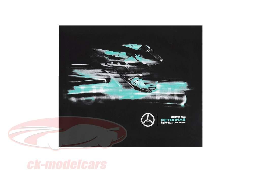 Nico Rosberg Mercedes AMG Petronas F1 Team Weltmeister F1 2016 T-Shirt schwarz