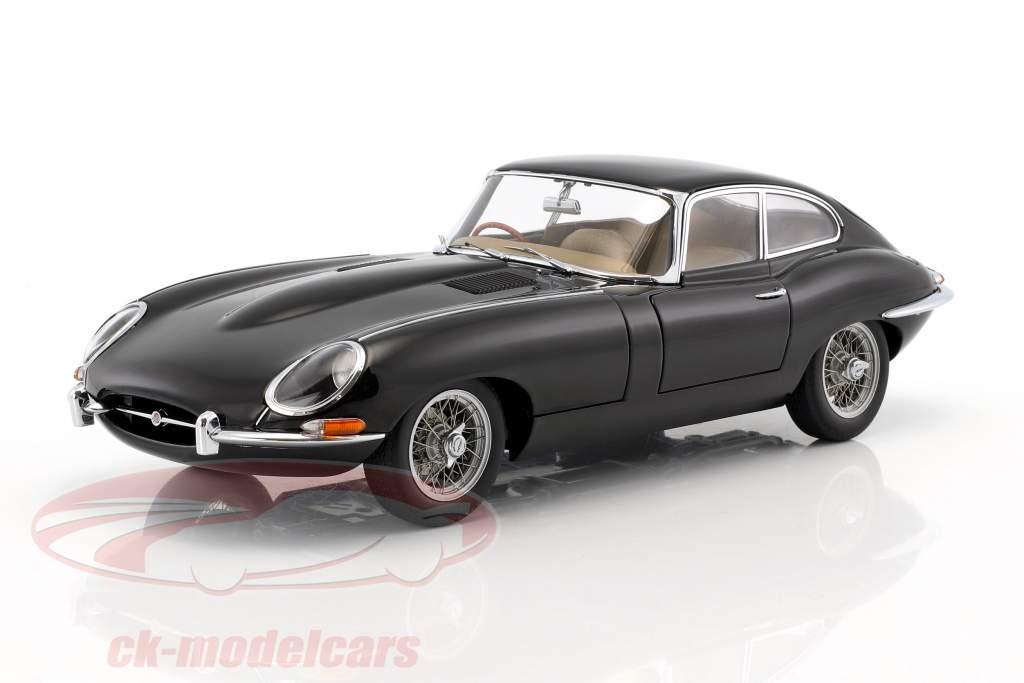Jaguar E Type >> Autoart 1 18 Jaguar E Type Series 1 3 8 Coupe Model 1961 Black 73611