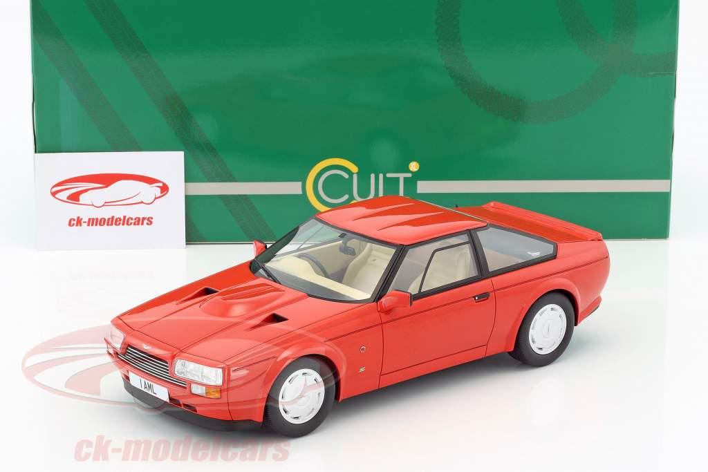 Aston Martin V8 Zagato année de construction 1986 rouge 1:18 Cult Scale