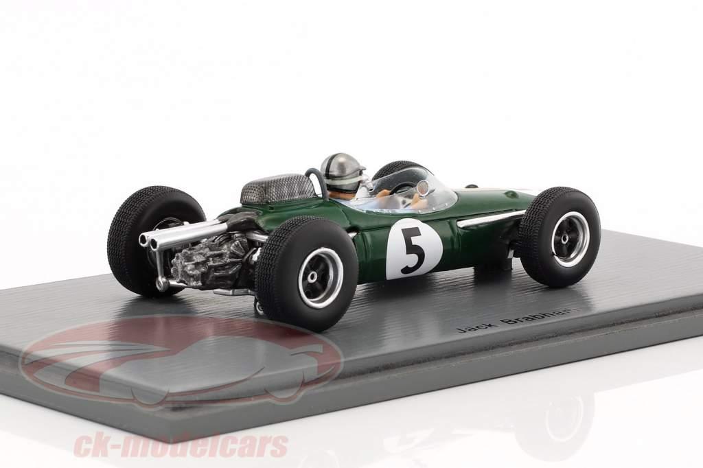 Jack Brabham Brabham BT7 #5 Monaco GP formule 1 1964 1:43 Spark