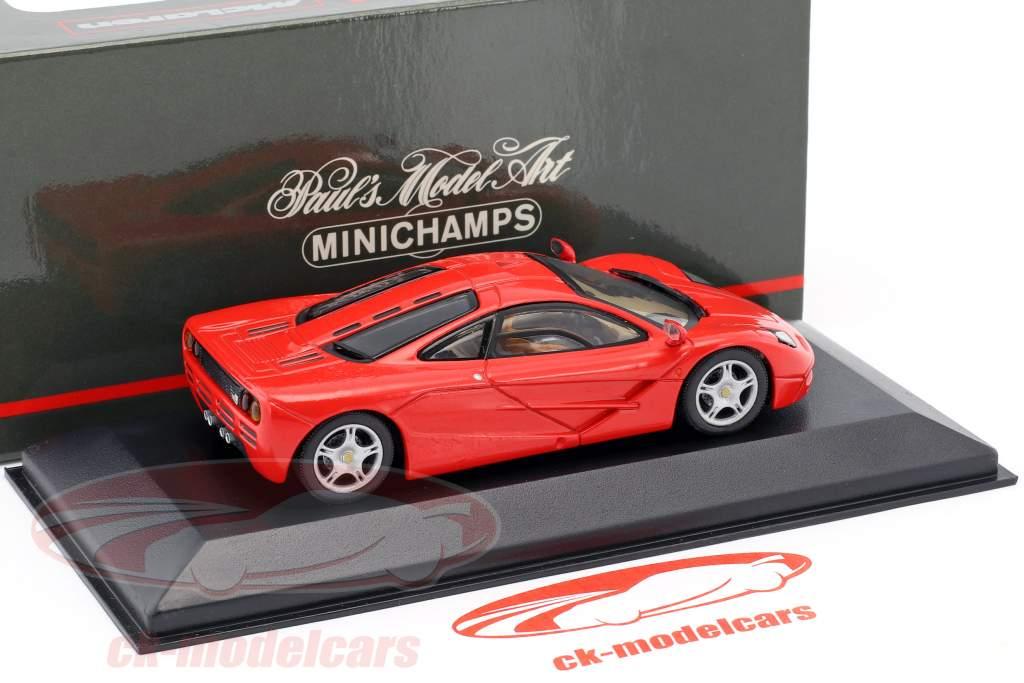 McLaren F1 roadcar rouge 1:43 Minichamps