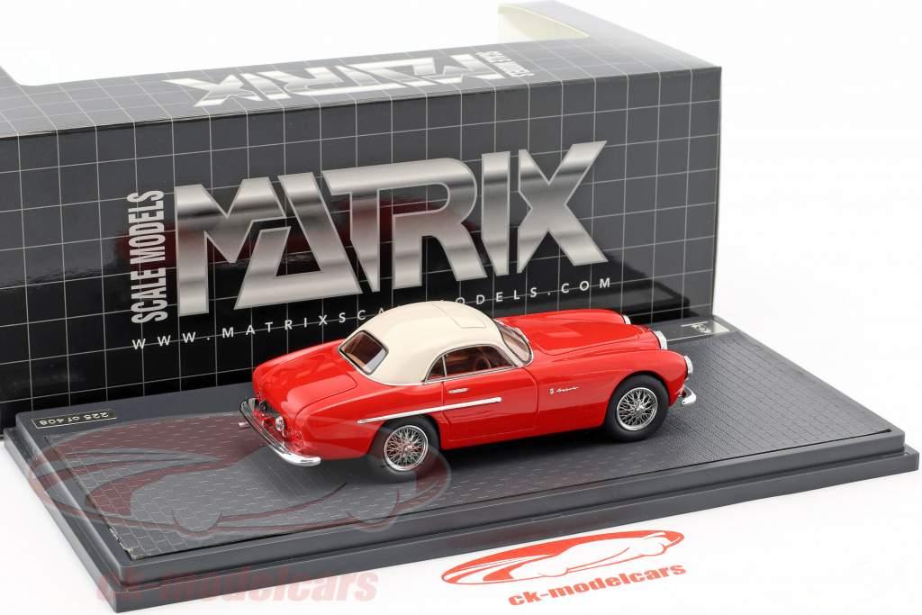 Jaguar XK 120 Flying Coupe Pininfarina année de construction 1952 rouge / blanc 1:43 Matrix