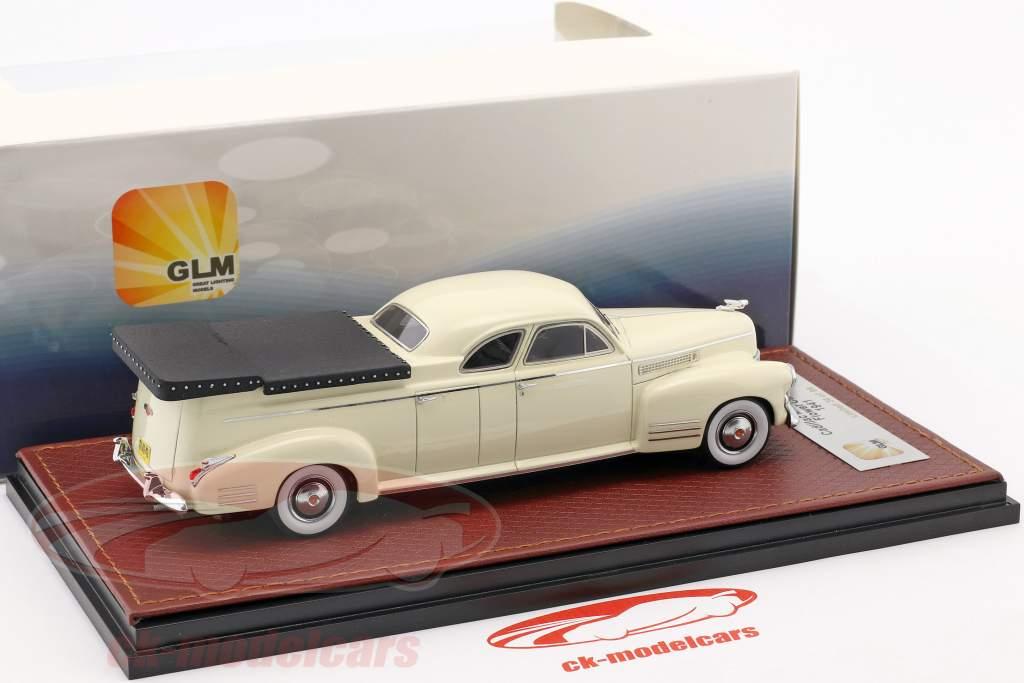Cadillac Miller Meteor Flower Car année de construction 1941 blanc 1:43 GLM