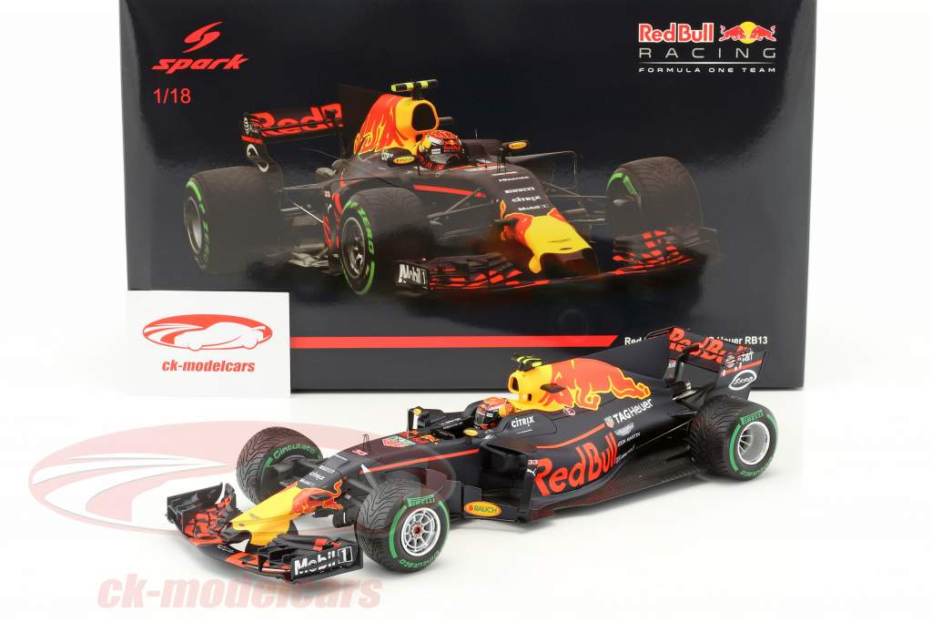 Max Verstappen Red Bull RB13 #33 3rd Chinese GP formula 1 2017 1:18 Spark
