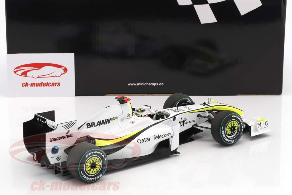 Jenson Button Brawn BGP 001 #22 World Champion formula 1 2009 1:18 Minichamps