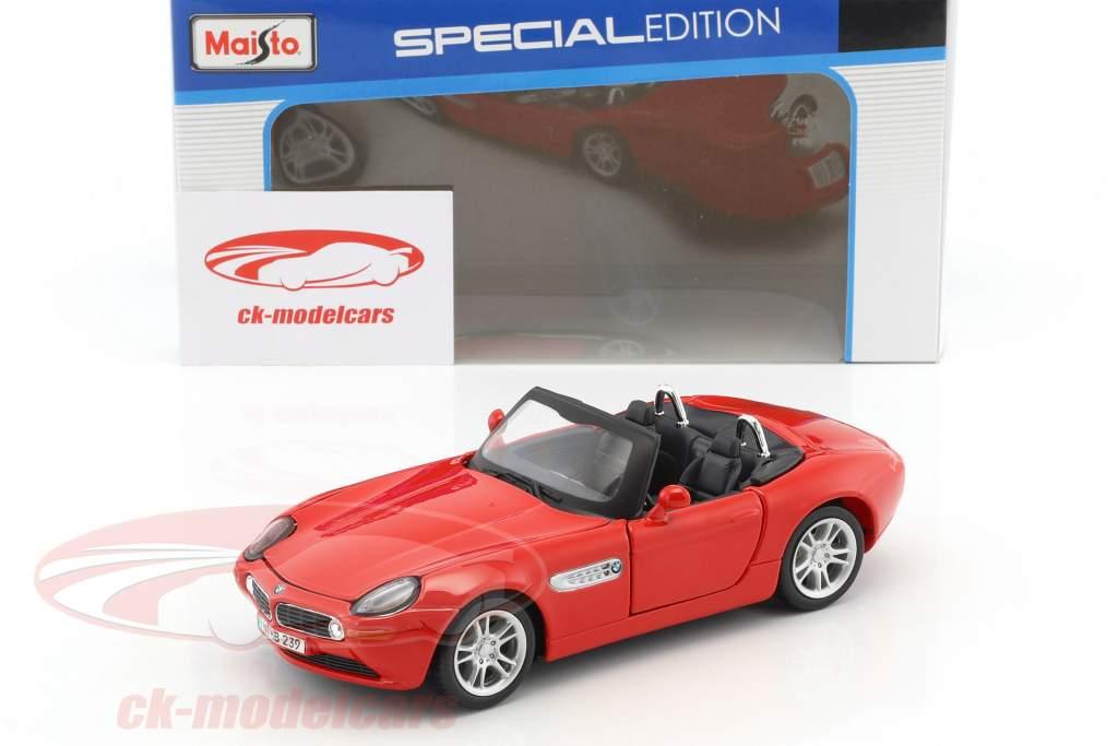 Maisto 124 Bmw Z8 Rot 31996 Modellauto 090159319962
