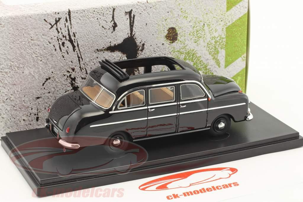 Borgward B1250 Pollmann anno di costruzione 1951 nero 1:43 AutoCult