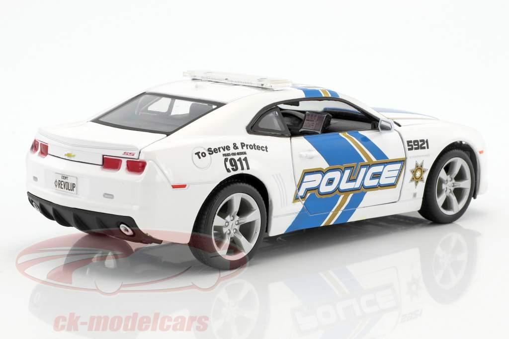 Chevrolet Camaro SS RS police year 2010 1:24 Maisto