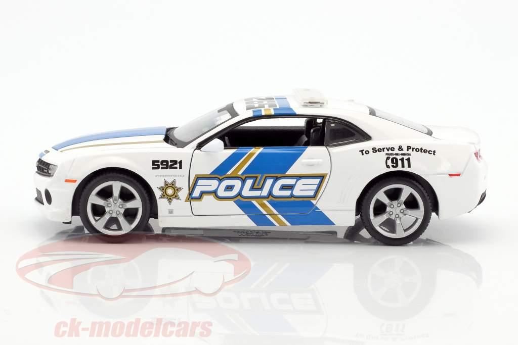 Chevrolet Camaro SS RS polizia anno 2010 1:24 Maisto