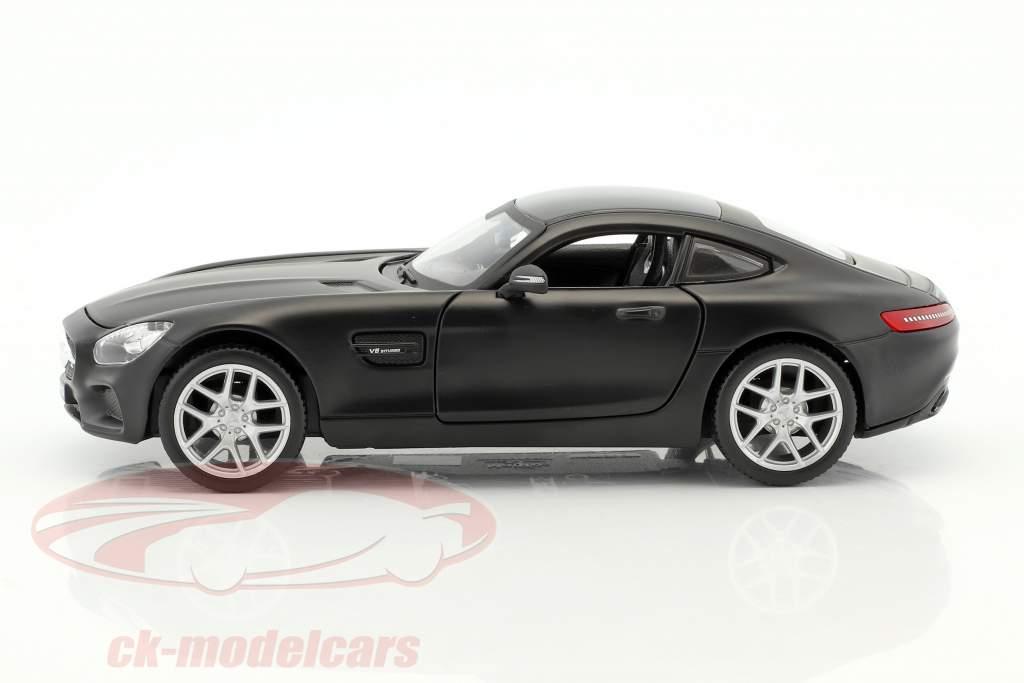 Mercedes-Benz AMG GT mattschwarz 1:24 Maisto