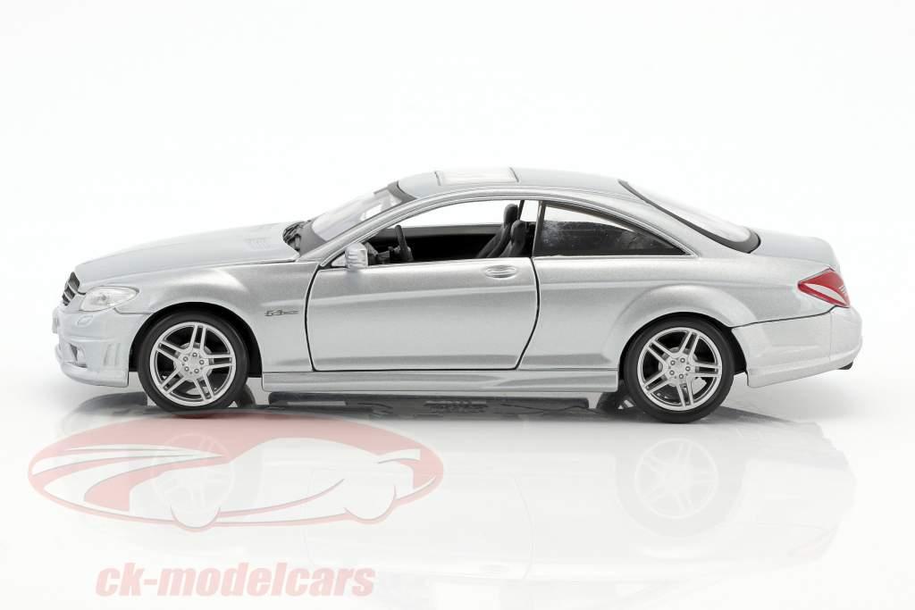 Mercedes-Benz CL 63 AMG silber 1:24 Maisto