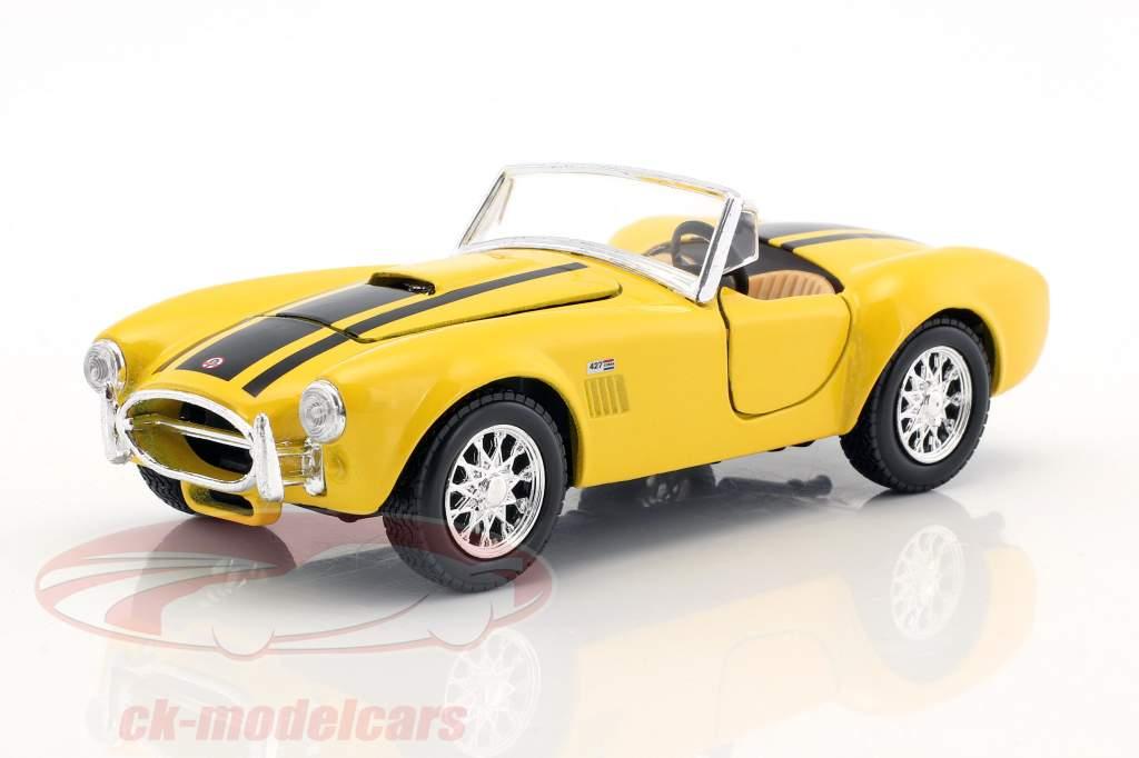 Shelby Cobra 427 année 1965 jaune / noir 1:24 Maisto