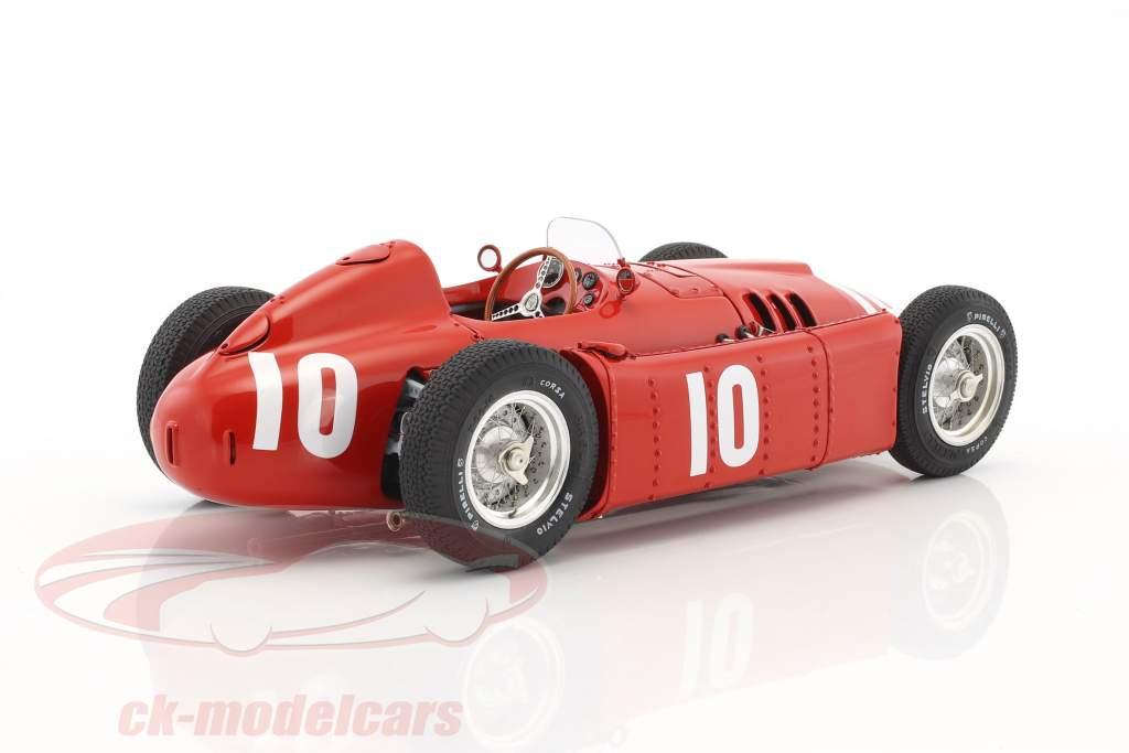 Lancia D50 #10 2 Pau GP formule 1 1955 Eugenio Castellotti 1:18 CMC
