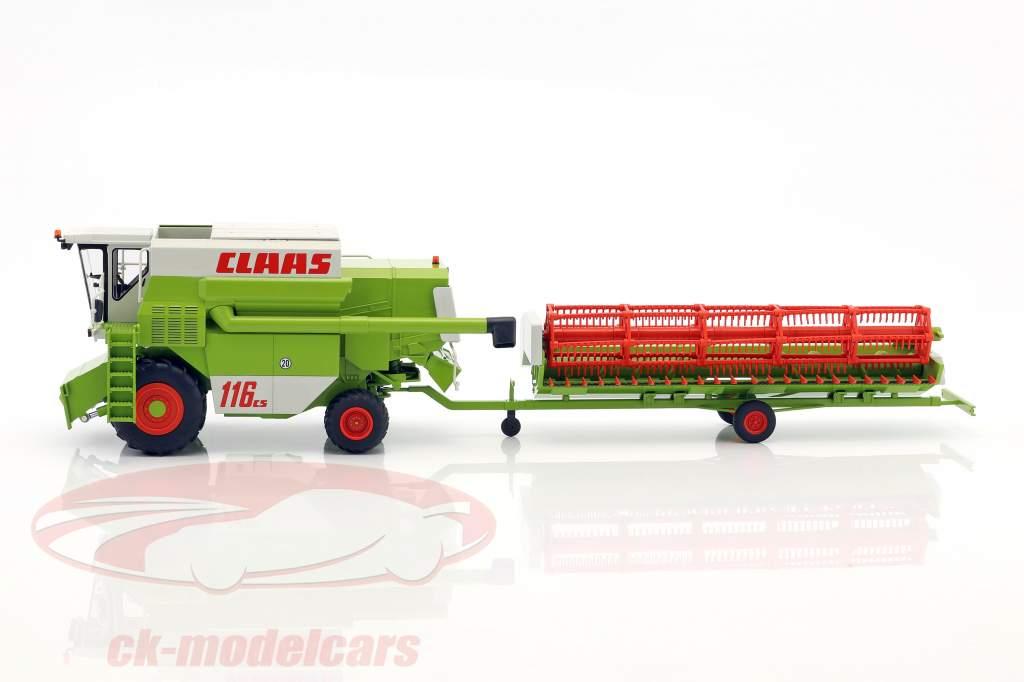 Claas Commandor 116 CS mietitore verde / bianco / rosso 1:32 Wiking