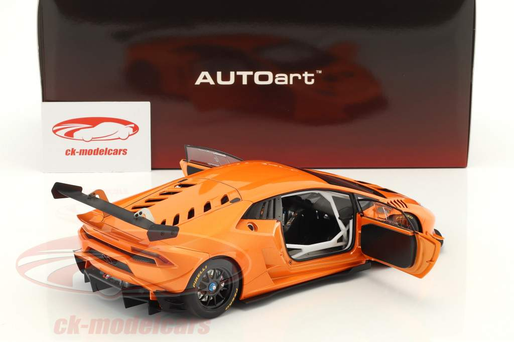 Lamborghini Huracan LP620-2 Super Trofeo year 2016 orange metallic 1:18 AUTOart