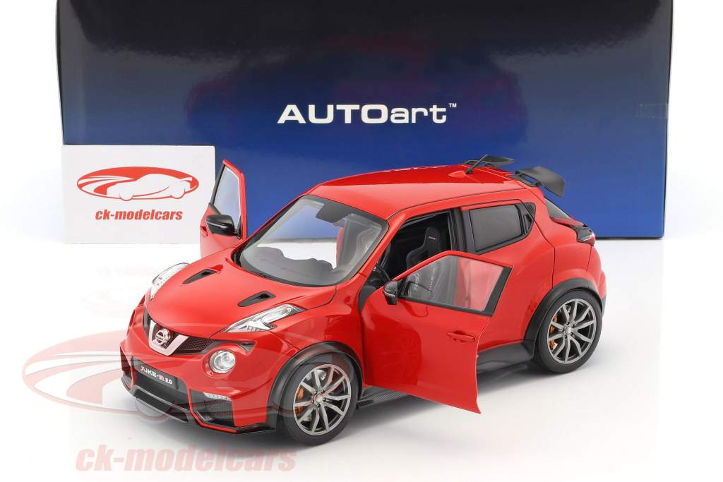 Nissan Juke R 2.0 année de construction 2016 rouge 1:18 AUTOart