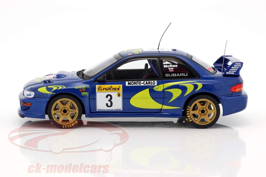 Subaru Impreza S3 WRC #3 Rallye Monte Carlo 1997 McRae, Grist 1:18 AUTOart