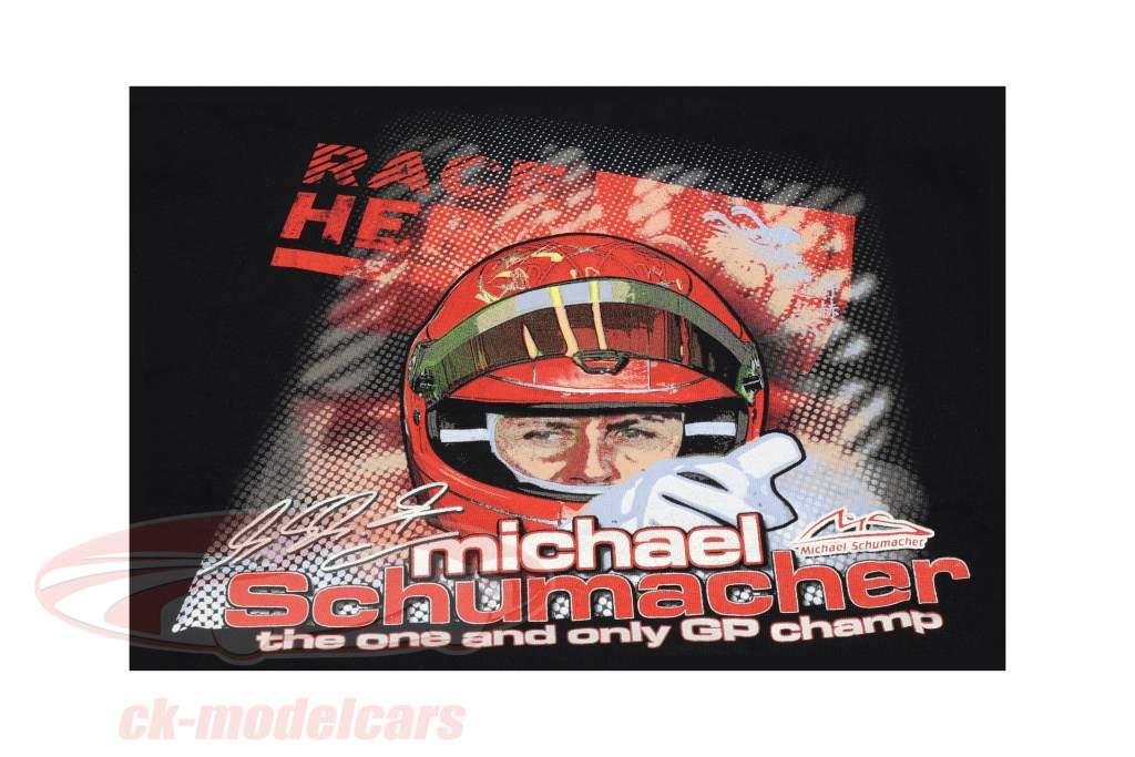 Michael Schumacher T-Shirt Challenge Tour 2011 nero
