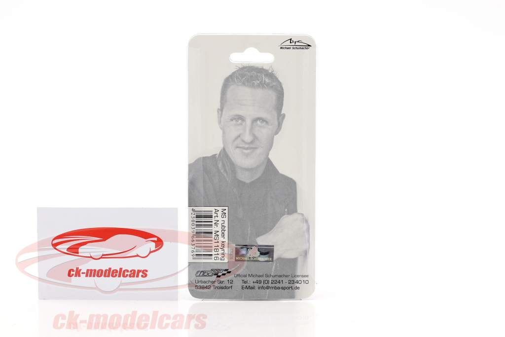 Michael Schumacher Keyring helmet red