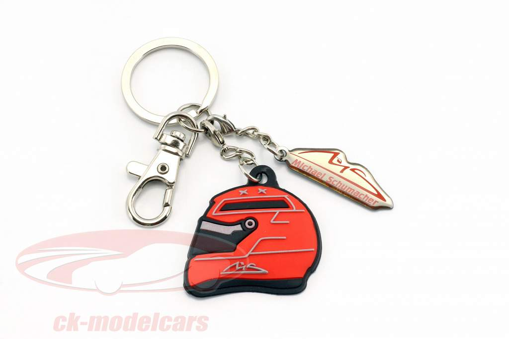 Michael Schumacher Porte-clefs casque rouge