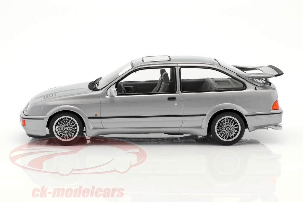 Ford Sierra RS Cosworth année de construction 1986 gris métallique 1:18 Norev