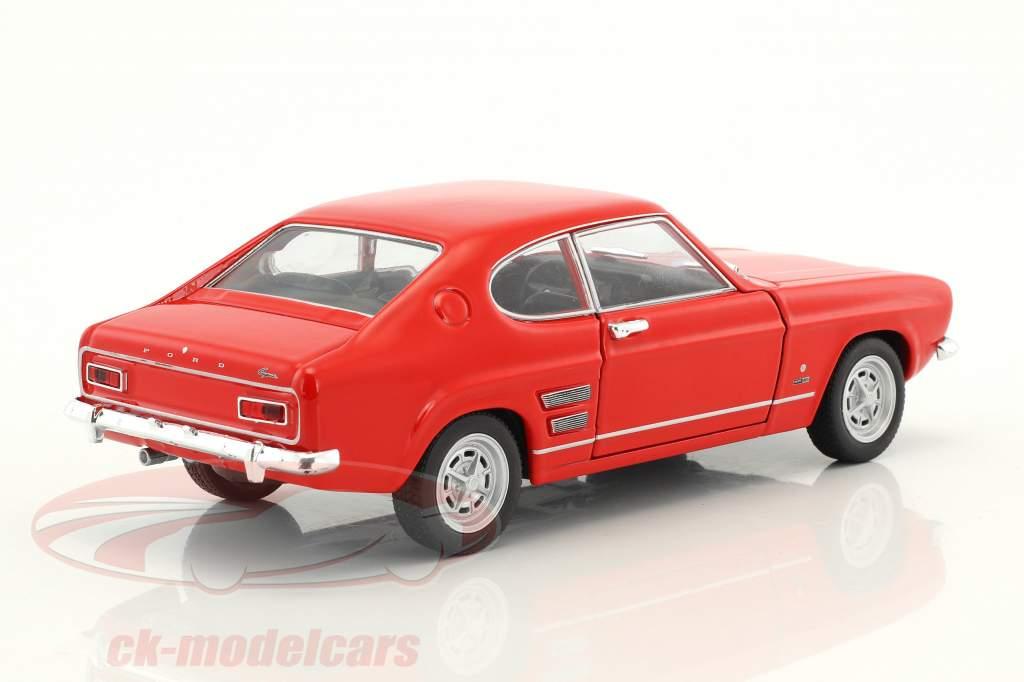 Ford Capri Baujahr 1969 rot 1:24 Welly