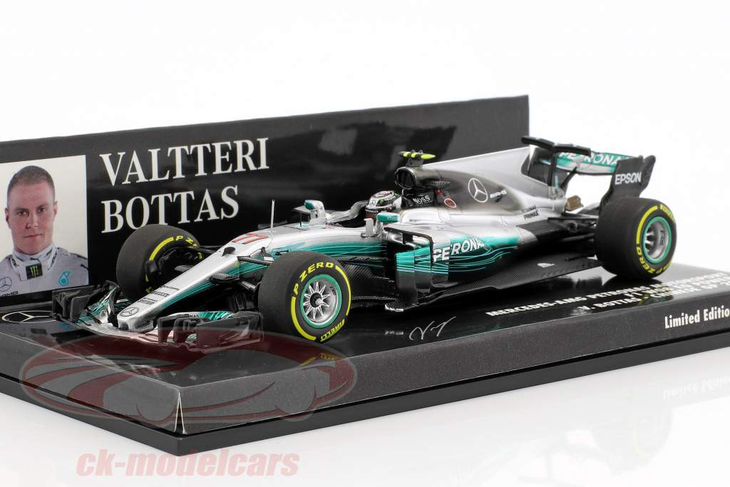 Valtteri Bottas Mercedes F1 W08 EQ Power  #77 China GP Formel 1 2017 1:43 Minichamps
