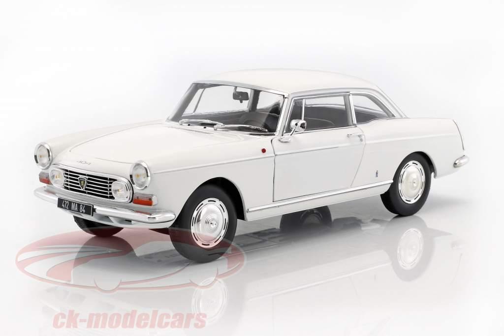 Peugeot 404 Coupe Baujahr 1967 weiß 1:18 Norev