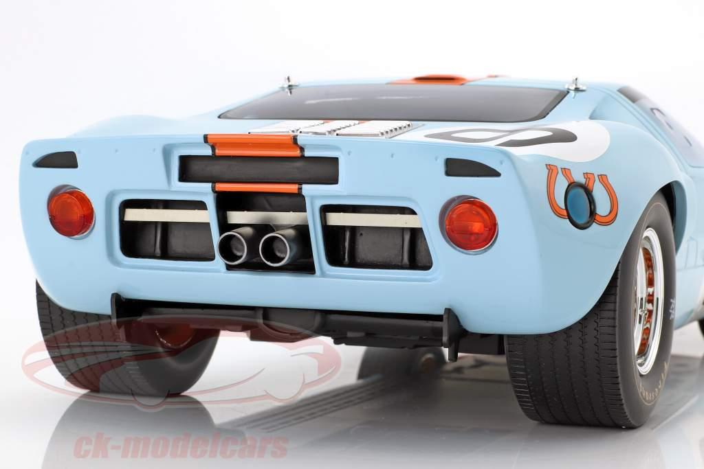 Ford GT 40 MK I Gulf #9 winnaar 24h LeMans 1968 Rodriguez, Bianchi 1:12 CMR