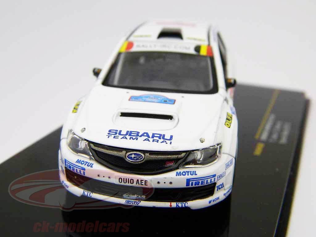 Subaru Impreza STI #6 T. Arai, D. Barret Ypres reunión 2010 1:43 Ixo