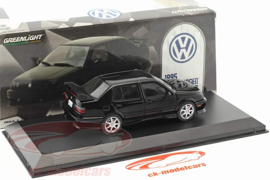 Volkswagen VW Jetta A3 année de construction 1995 noir 1:43 Greenlight