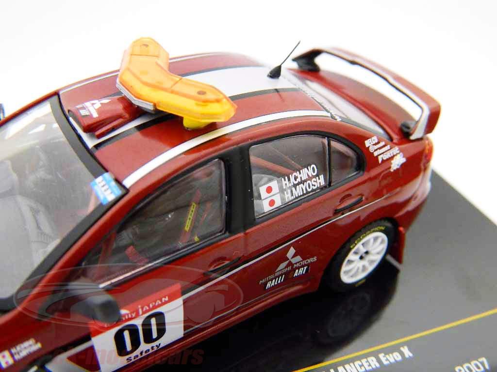 Mitsubishi Lancer Evo X  Rallye Japan 2007 #00 Safety Car 1:43 Ixo