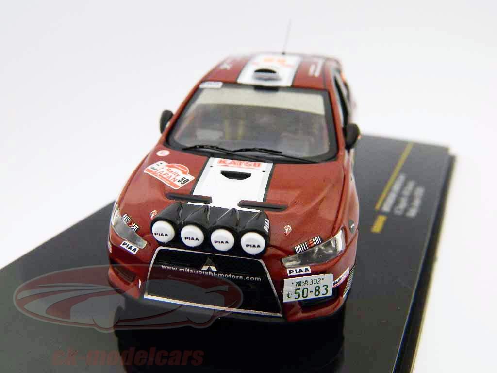 Mitsubishi Lancer Evo X  #59 Rallye Japan 2008 1:43 Ixo