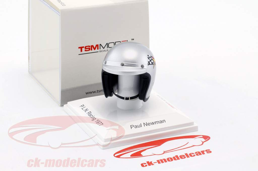 Paul Newman P.L.N. Racing 1977 Helm 1:8 TrueScale