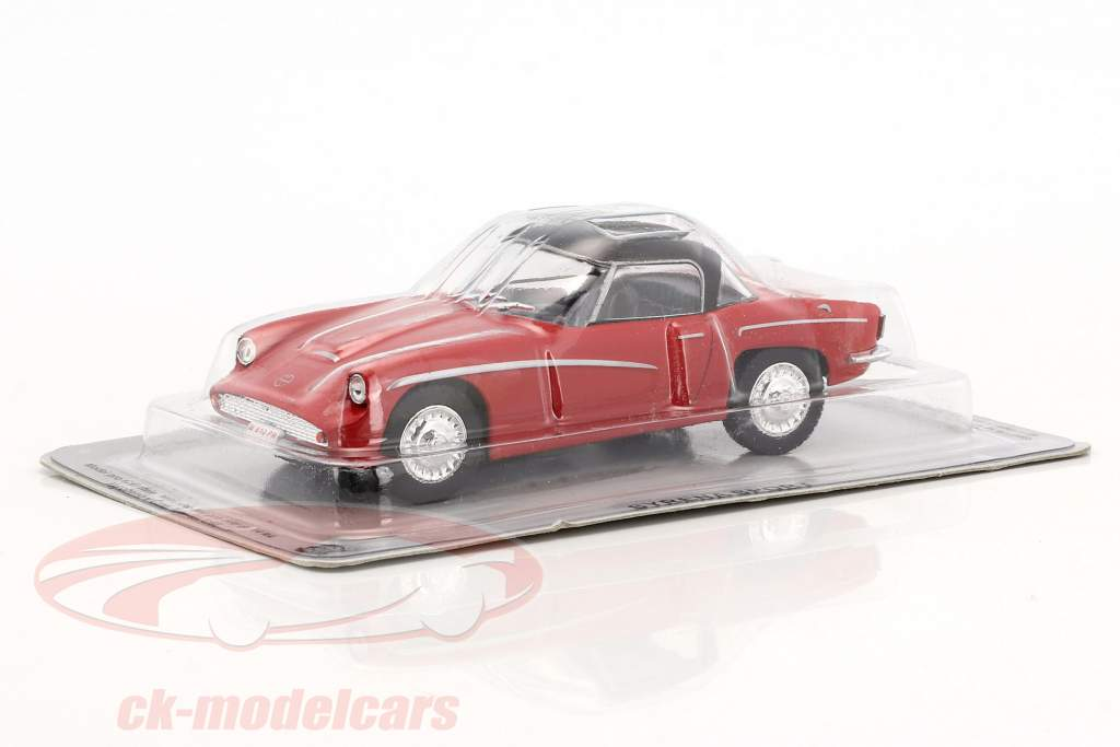 Syrena Sport Baujahr 1960 rot / schwarz 1:43 Altaya