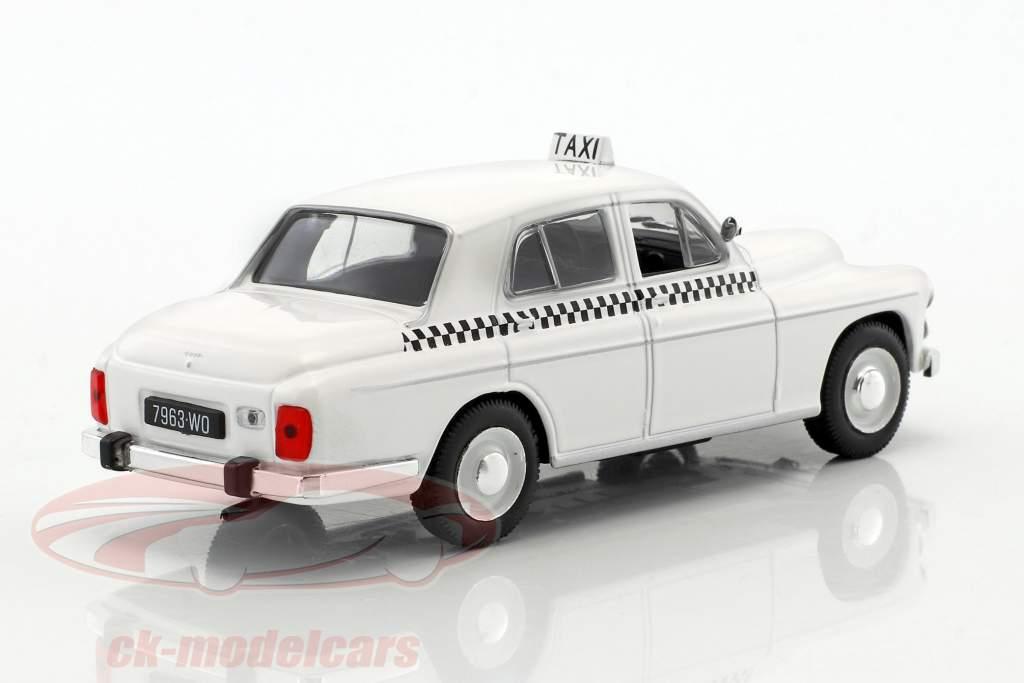 Warszawa 203 Taxi weiß 1:43 Altaya