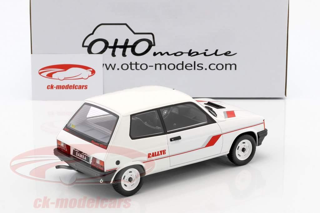 Talbot Samba Rallye anno di costruzione 1983 bianco 1:18 OttOmobile