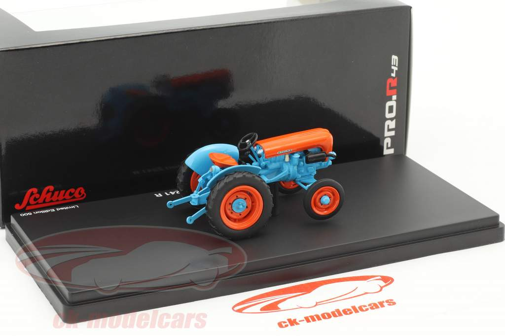 Lamborghini 2241 R tractor blue / orange 1:43 Schuco