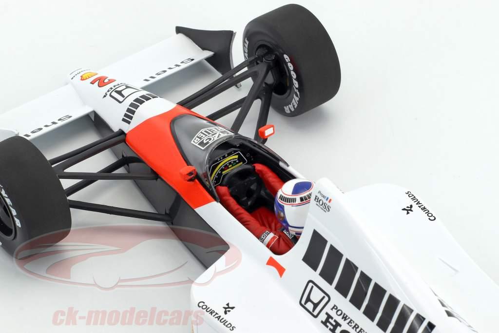 Alain Prost McLaren MP4/5 #2 champion du monde formule 1 1989 1:18 Minichamps