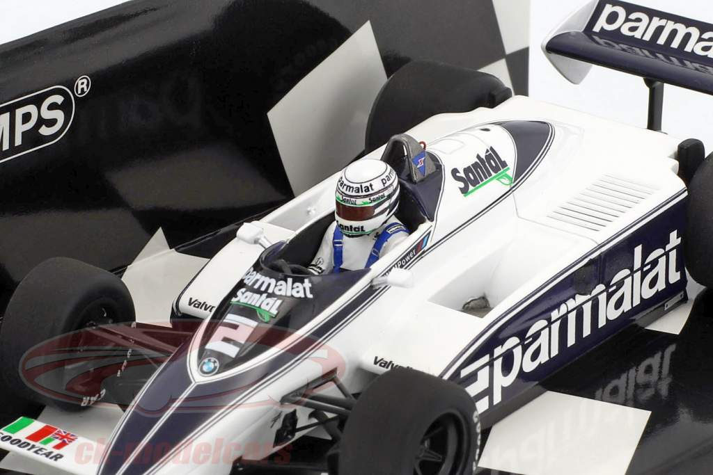 Riccardo Patrese Brabham BT50 #2 formule 1 1982 1:43 Minichamps