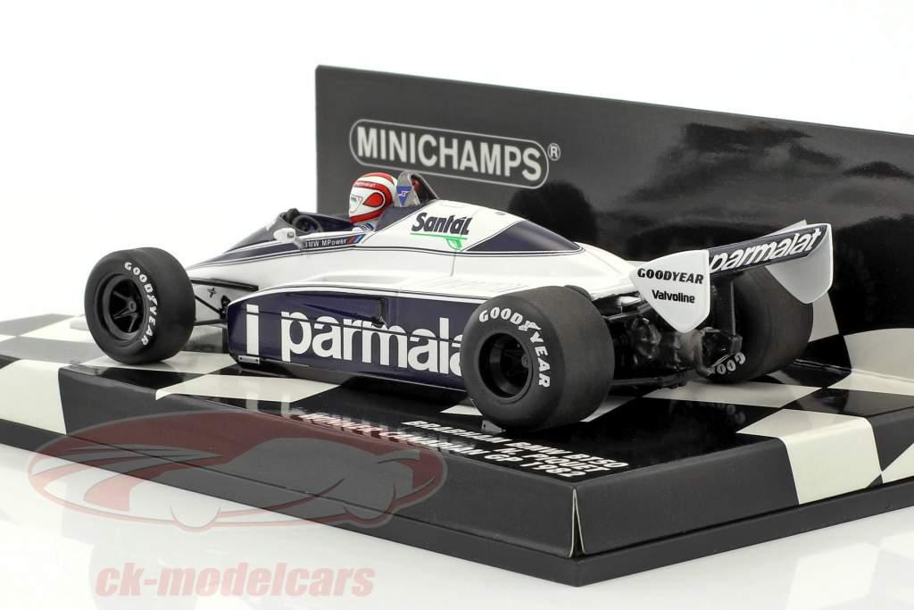 Nelson Piquet Brabham BT50 #1 vincitore canadese GP formula 1 1982 1:43 Minichamps