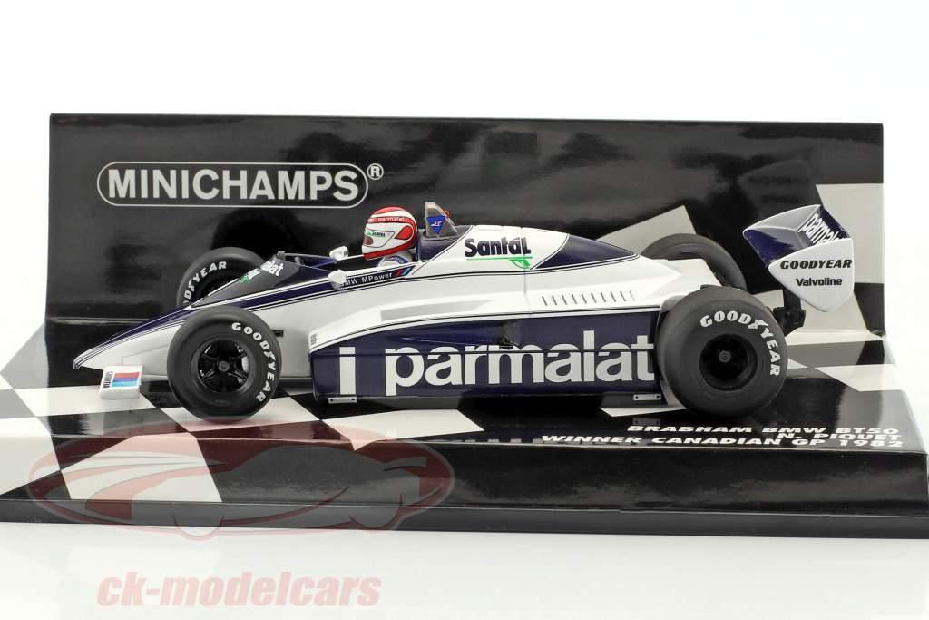 Nelson Piquet Brabham BT50 #1 gagnant canadien GP formule 1 1982 1:43 Minichamps