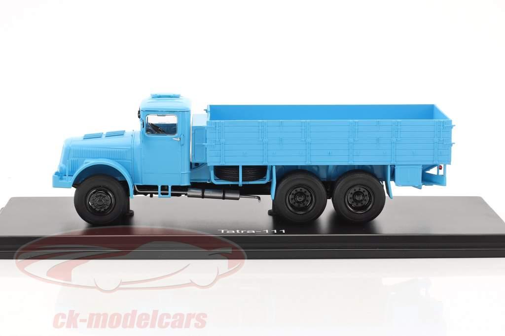 Tatra 111 plate-forme avec bâche bleu clair 1:43 PremiumClassiXXs