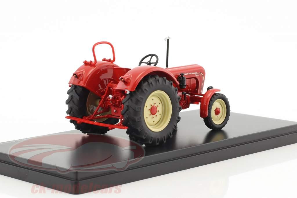 Porsche Master tracteur rouge 1:43 Schuco