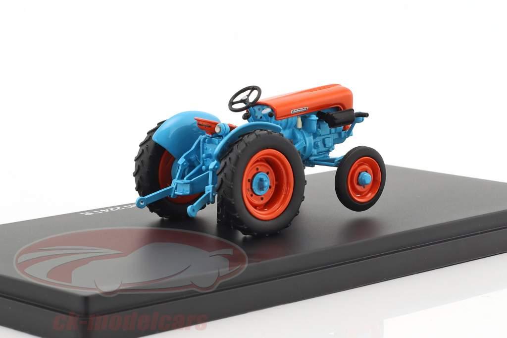 Lamborghini 2241 R Traktor blau / orange 1:43 Schuco