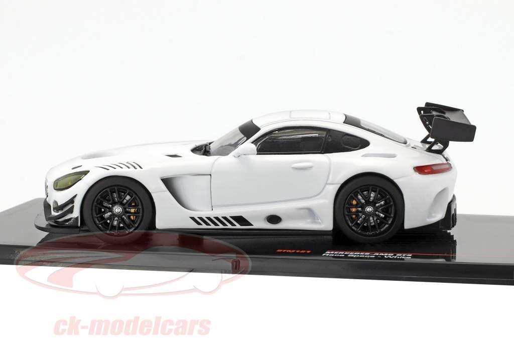 Mercedes-Benz AMG GT3 Race Version bianco 1:43 Ixo
